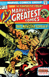 Marvel's Greatest Comics (Marvel - 1969) -61- This Monster Forever!