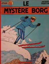 Lefranc -3a1971- Le mystère Borg