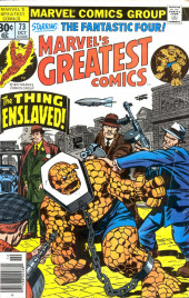 Marvel's Greatest Comics (Marvel - 1969) -73- The Thing Enslaved!