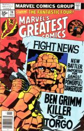 Marvel's Greatest Comics (Marvel - 1969) -74- Ben Grimm Killer vs. Torgo