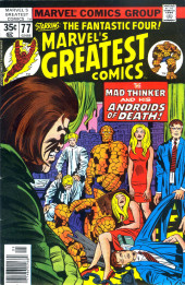 Marvel's Greatest Comics (Marvel - 1969) -77- The Mad Thinker and His Andriods of Death!