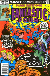 Marvel's Greatest Comics (Marvel - 1969) -90- One From Four Leaves... Three!