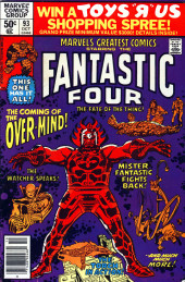 Marvel's Greatest Comics (Marvel - 1969) -93- The Coming of the Over-Mind!