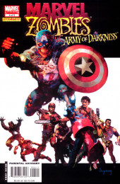 Marvel Zombies Vs. Army of Darkness (Marvel/Dynamite - 2007) -A- Issue # 4