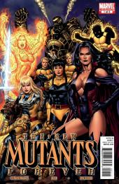 New Mutants Forever (2010) -1- The Fall of Nova Roma Part 1