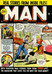 Man Comics (Marvel Comics - 1949) -1- The Revenge Of James Cortez