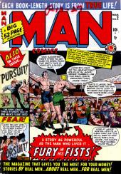 Man Comics (Marvel Comics - 1949) -2- Fury In His Fists!