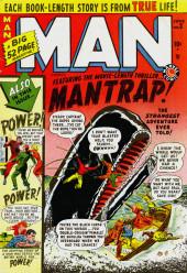 Man Comics (Marvel Comics - 1949) -3- Mantrap!