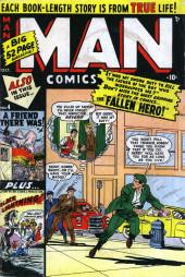 Man Comics (Marvel Comics - 1949) -4- The Fallen Hero!
