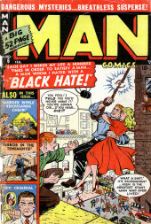 Man Comics (Marvel Comics - 1949) -6- Black Hate!