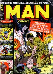 Man Comics (Marvel Comics - 1949) -10- The Man Who Turned Yellow!