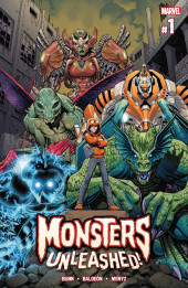 Monsters Unleashed Vol.2 (Marvel Comics - 2017/2018) -1- Issue # 1