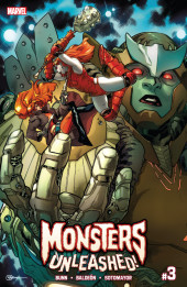 Monsters Unleashed Vol.2 (Marvel Comics - 2017/2018) -3- Issue # 3