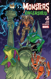 Monsters Unleashed Vol.2 (Marvel Comics - 2017/2018) -5- Issue # 5