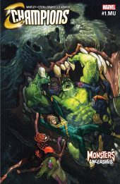 Monsters Unleashed Vol.1 (Marvel comics - 2017) -MU- Champions/Monsters Unleashed