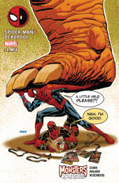 Monsters Unleashed Vol.1 (Marvel comics - 2017) -MU- Spider-Man-Deadpoll/Monsters Unleashed