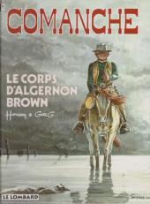 Comanche -10b1993- Le corps d'Algernon Brown