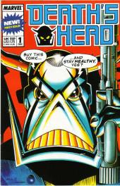 Death's Head (Marvel UK - 1988) -1- Issue # 1