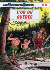 Les tuniques Bleues -26b2018- L'or du Québec