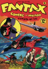 Fantax (1re série) -2- Fantax contre le Mikado L'ombre qui tue