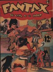 Fantax (1re série) -9- Le Gang de la Mort