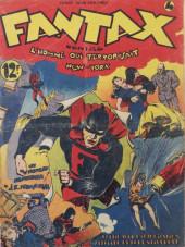 Fantax (1re série) -4- Fantax contre l'Homme qui terrorisait New York