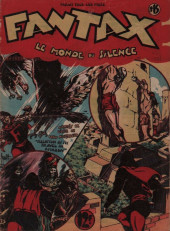 Fantax (1re série) -15- Le Monde du Silence