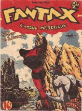 Fantax (1re série) -33- L'Atoll Mystérieux