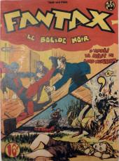 Fantax (1re série) -35- Le Bolide Noir