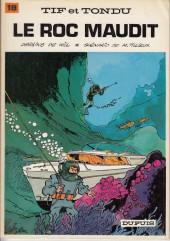 Tif et Tondu -18a1983- Le roc maudit