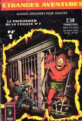 Étranges aventures (1re série - Arédit) -1- Le Prisonnier de la cellule n°7