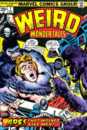 Weird Wonder Tales (Marvel Comics - 1973) -7- The Apes That Walked Like Men!