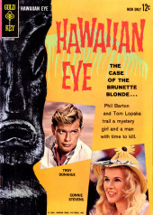 Movie comics (Gold Key) -307- Hawaiian Eye: The Case of the Brunette Blonde