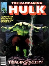Rampaging Hulk Vol.1 (The) (Marvel Comics - 1977) -4- Trial by Sorcery!