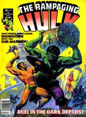 Rampaging Hulk Vol.1 (The) (Marvel Comics - 1977) -6- Duel in the Dark Depths!