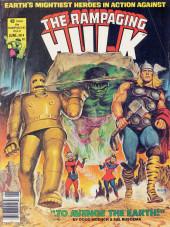 Rampaging Hulk Vol.1 (The) (Marvel Comics - 1977) -9- To Avenge the Earth!