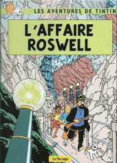 Tintin - Pastiches, parodies & pirates -a2020- L'affaire roswell
