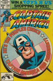 Captain America (Marvel comics - 1968) -250- Cap for President!