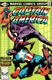 Captain America (Marvel comics - 1968) -254- Blood on the Moors