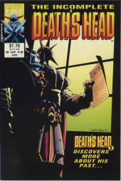 Death's Head (The Incomplete) (Marvel UK - 1993) -6- Death's Head II Discovers More About His Past...