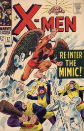 Uncanny X-Men (The) (Marvel comics - 1963) -27- Re-enter: The Mimic!