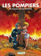 Les pompiers -6a2010- Un homme et une flamme