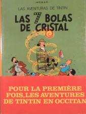 Tintin (en langues régionales) -13Occitan- Las 7 Bolas de Cristal