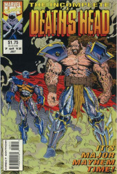 Death's Head (The Incomplete) (Marvel UK - 1993) -7- It's Major Mayhem Time!