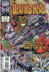 Death's Head (The Incomplete) (Marvel UK - 1993) -8- Armor-Piercing Action with Big Shot