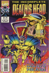 Death's Head (The Incomplete) (Marvel UK - 1993) -9- The Heat is on for Death's Head!