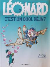 Léonard -3g2010- Léonard, c'est un quoi, déjà ?