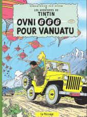Tintin - Pastiches, parodies & pirates -a2020- Ovni 666 pour vanuatu