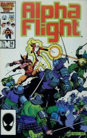 Alpha Flight (Marvel comics - 1983) -34- Honor