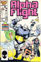 Alpha Flight (Marvel comics - 1983) -36- Labor Pains